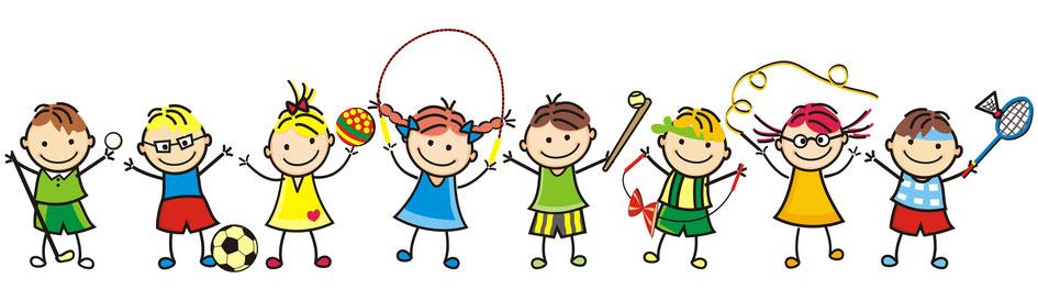bewegung-im-kindergarten-clipart